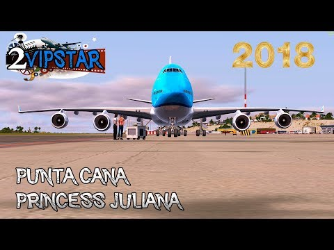 PUNTA CANA - PRINCESS JULIANA B747 KLM