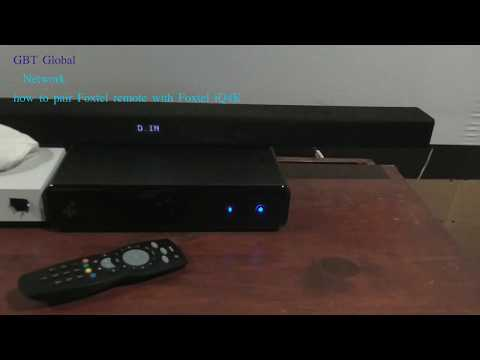 how to pair Foxtel remote with Foxtel iQ4K