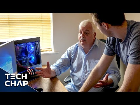 Building My Dad a GAMING PC (Part 1/2) | The Tech Chap