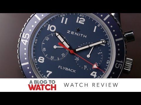 Zenith Pilot Cronometro Tipo CP-2 USA Edition Watch Review | aBlogtoWatch
