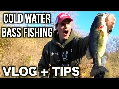 Cold Water Bass Fishing VLOG + TIPS