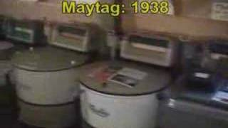 Washing Machine Museum quick tour - washing machine development and product history