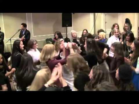 Beth Plotkin & Eddie Shapiro Wedding Freilach Dancing (& acrobatics & juggling)