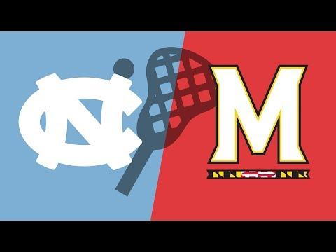 UNC vs. Maryland - Pacific Coast Shootout - NCAA Lacrosse