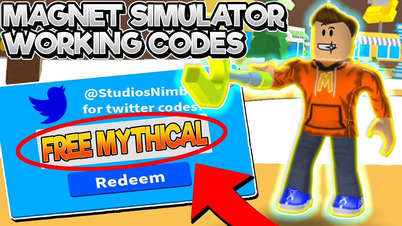 ALL *WORKING* CODES In MAGNET SIMULATOR! (Roblox 2019 C