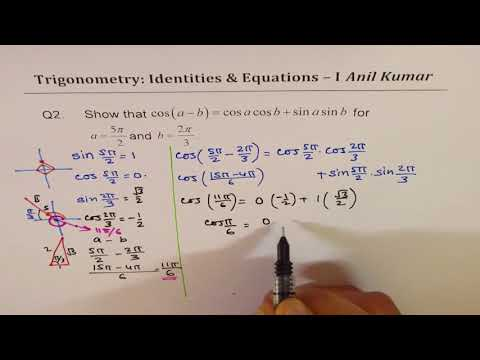 7 Trigonometry Sum Double Angle Identities and Equations Test