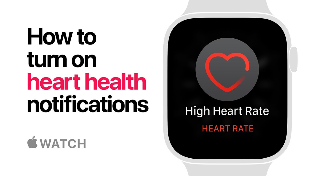 Apple Watch Series 4 How To Turn On Heart Health Notifications Apple Youtube