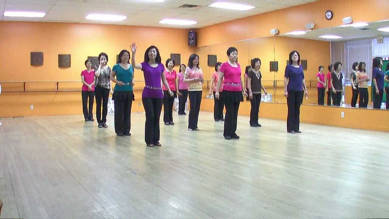 Love Me Or Leave Me - Line Dance (Dance & Teach in English & 中文) - YouTube