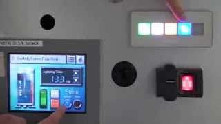 Video: Pro-face EZ Series - Illuminated Switch Demonstration (PFXZCCEUSG1)