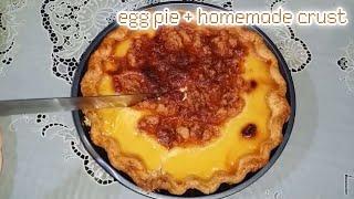 Egg Pie | Ingredients in the Description Box