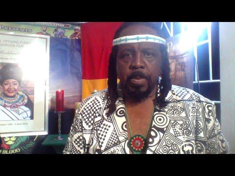 WINNIE MANDELA JAMAICAN REGGAE STAR RA DEAL  PAYS RESPECT