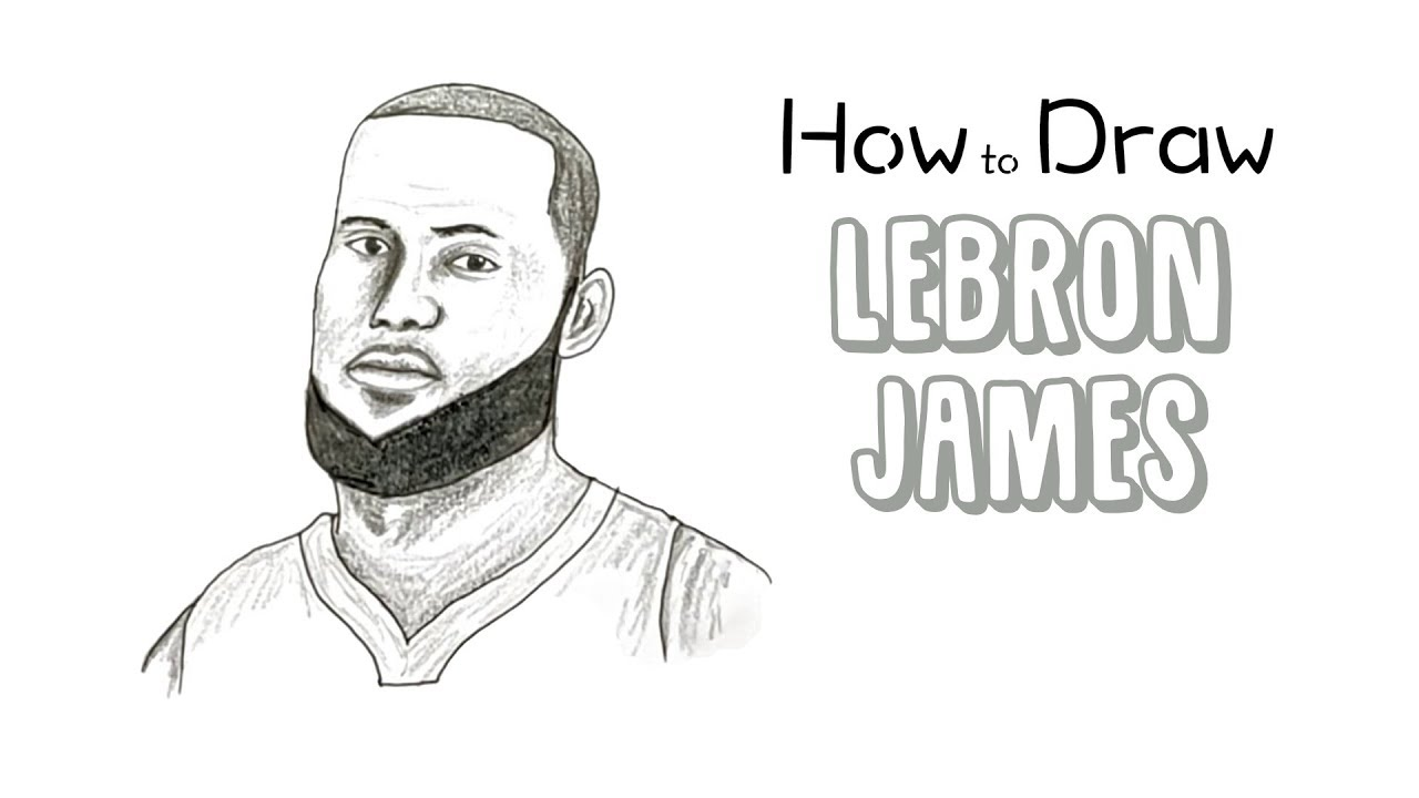 How To Draw Lebron James Youtube
