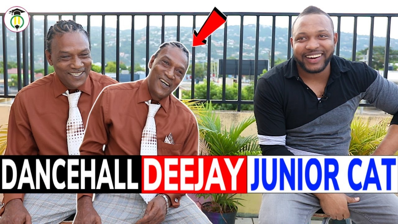 Deejay JUNIOR CAT shares his STORY 🇯🇲