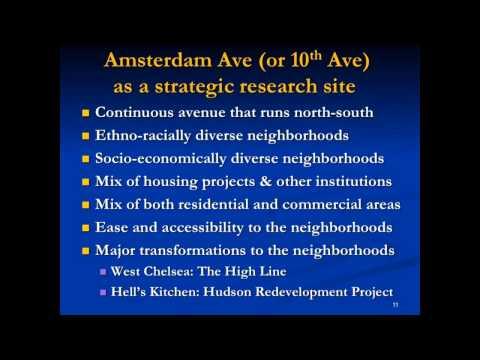"Van C. Tran: ""Amsterdam Avenue: Neighborhood Gentrification and Change in a Global City"""