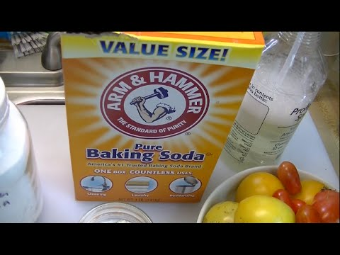 The Benefits Of Baking Soda In The Garden ~ Noreen's Garden