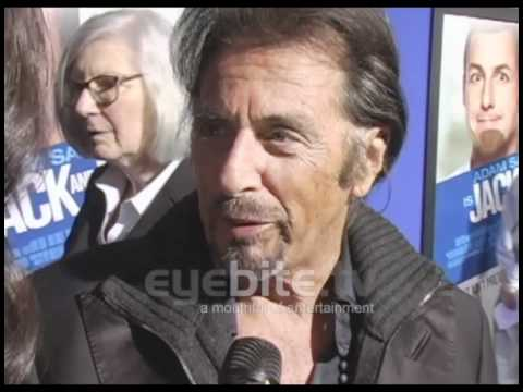 Al Pacino talks about comedy at the Jack and Jill premiere