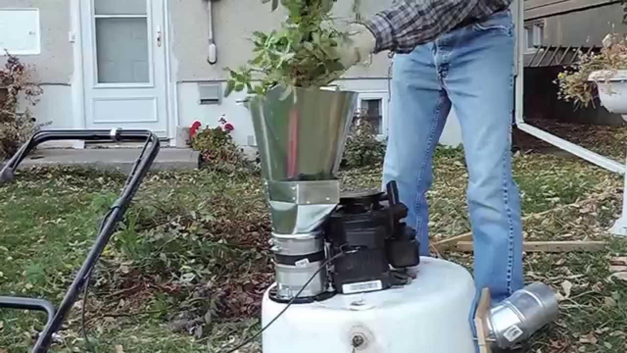 Homemade Leaf Shredder