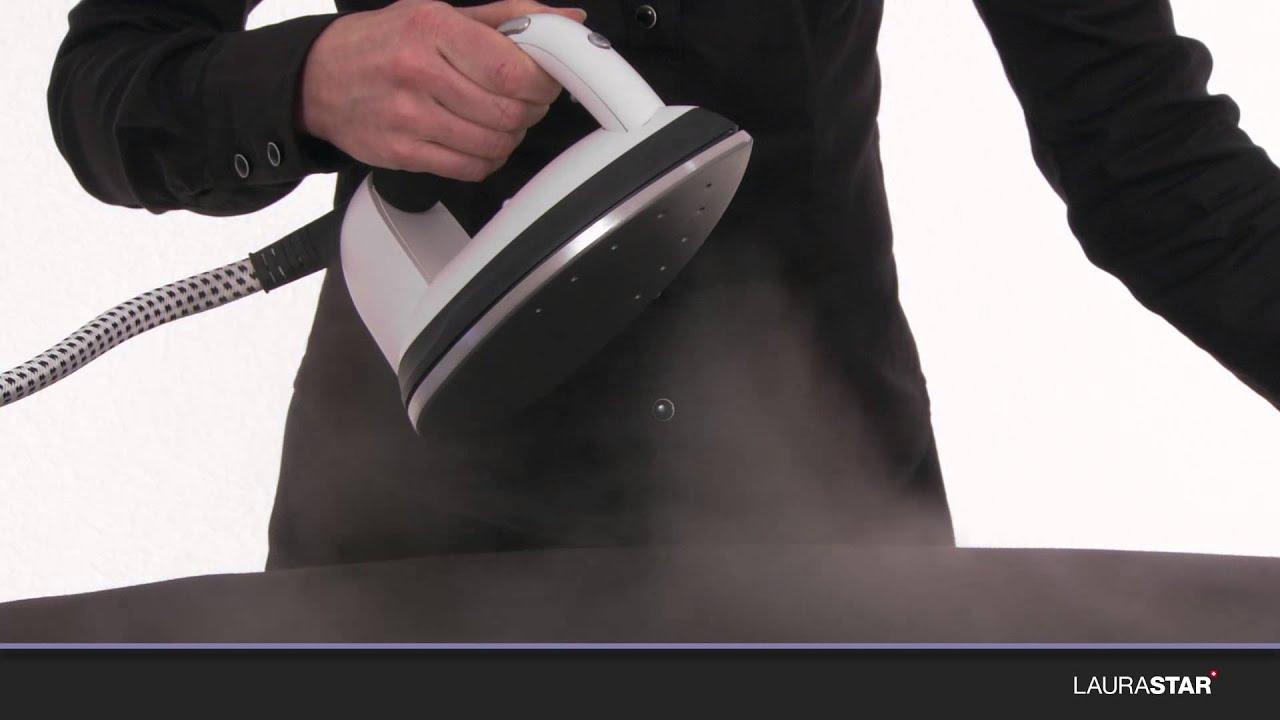 laurastar comment nettoyer la semelle les ouvertures de sortie de vapeur de votre fer. Black Bedroom Furniture Sets. Home Design Ideas