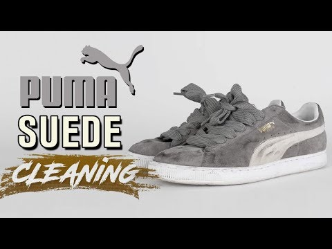 How to clean Suede Puma's tutorial
