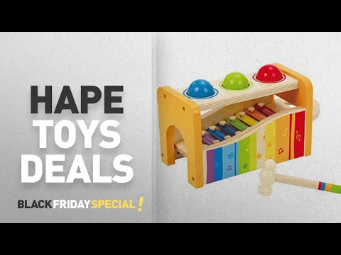 Black Friday Hape Deal Of The Day: Hape Pound & Tap Bench with Slide Out Xylophone