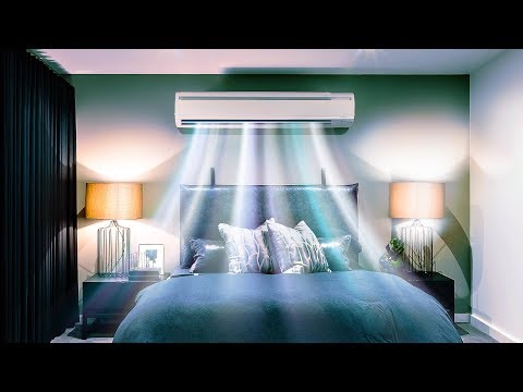 Air Conditioner White Noise Sounds for Sleep or Studying | 1