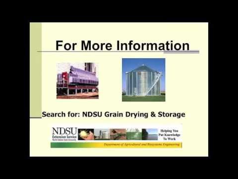 Grain Dryer Energy Audit
