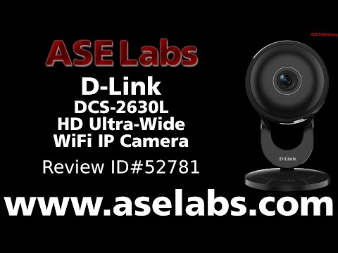 D-Link DCS-2630L HD Ultra-Wide WiFi IP Camera Review - ASE Labs