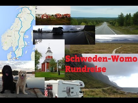 Rundreise durch Schweden und einen Teil Norwegen mit dem Wohnmobil.