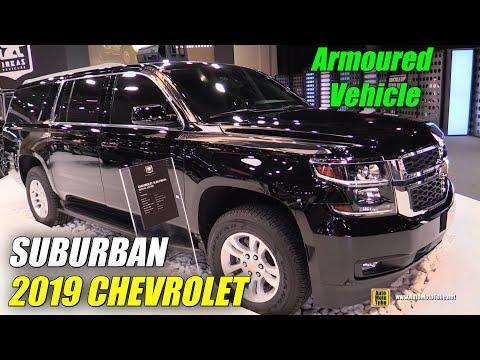 2019 Chevrolet Suburban Armored Luxury Vehicle – Walkaround – 2019 Dubai Motor Show