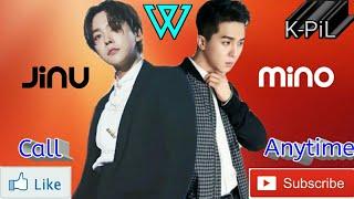 Jinu ft Mino - Call Anytime (Indo ver.) Karaoke
