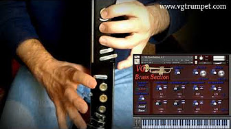 AKAI EWI and KONTAKT libraries, SoundFonts - YouTube