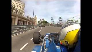 Andrew Smith Monaco Historic GP 2014 First 2 Laps Onboard