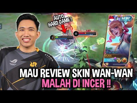 REVIEW SKIN KOK JADI HARD GAME GUYS !!  Mobile Legends