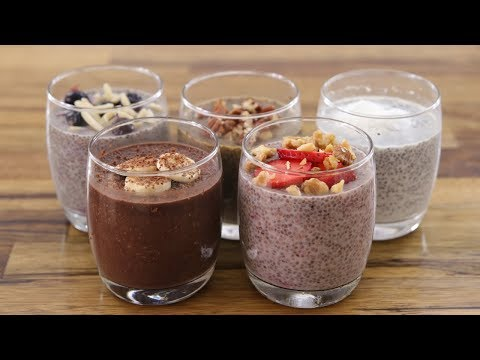 Chia Pudding – 5 Easy & Healthy Recipes