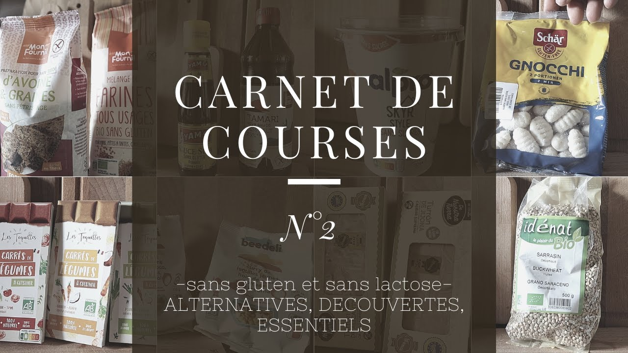Download Carnet de courses sans gluten N°2