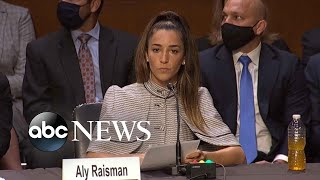 Aly Raisman gives opening statement in Senate review of Nassar case