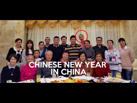 MY CHINESE HALF   spending CNY in China