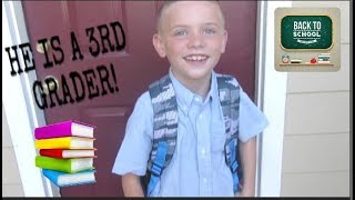 FIRST DAY OF SCHOOL!