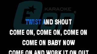 The Beatles Twist And Shout chorus Eon karaoke zoom demo