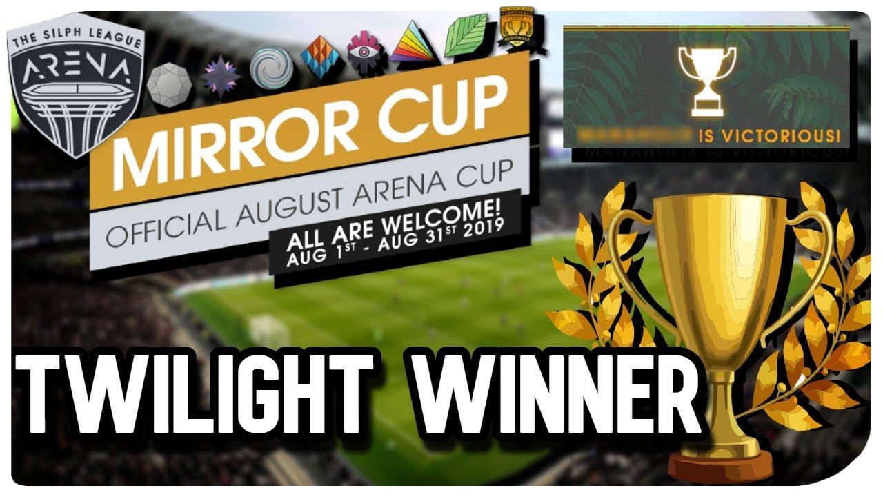 TWILIGHT CUP WINNER | Mirror Cup | Pokemon GO PVP
