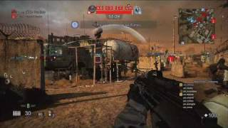 MAG PS3 ONLINE gameplay - 256 PEOPLE!!! HD