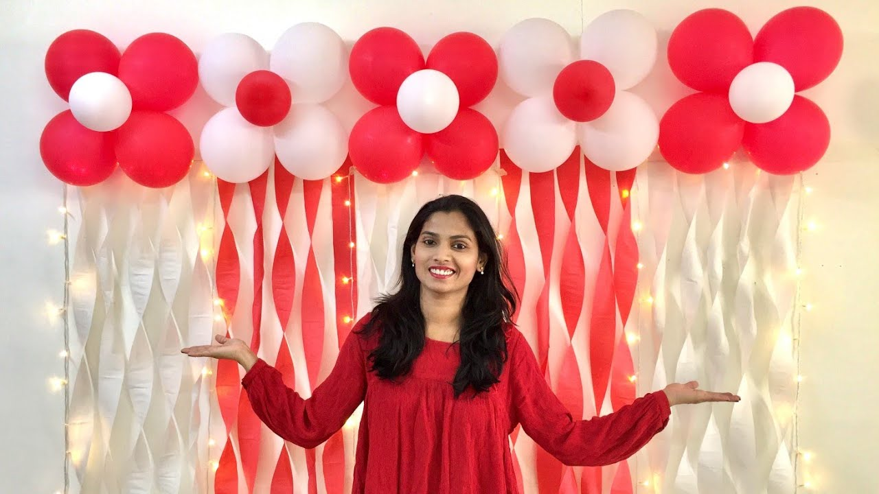 Very Easy Balloon Decoration Ideas Balloon Decoration Ideas For Any Occasion At Home Youtube