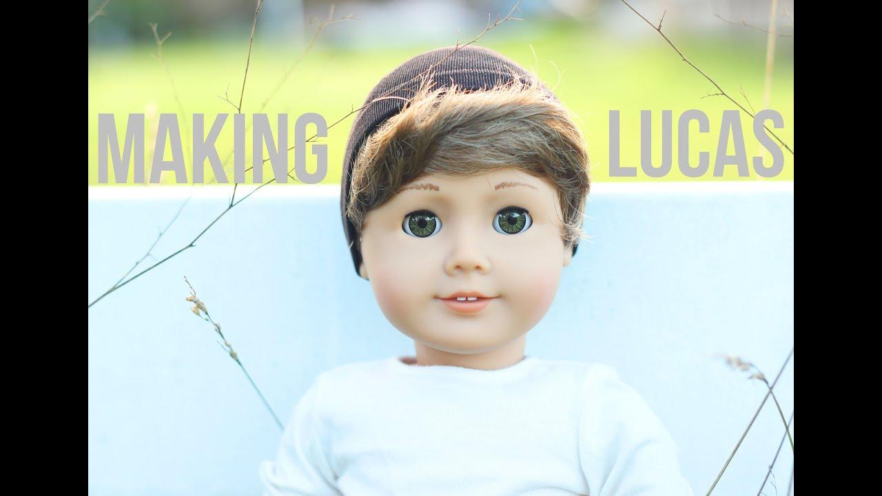 Making My American Boy Doll Lucas Youtube
