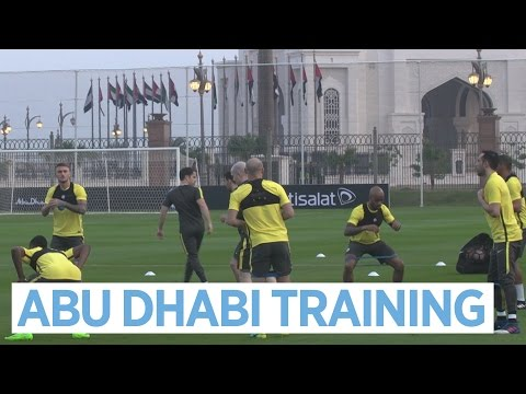 MAN CITY TRAIN IN ABU DHABI! | Post-Monaco 5-3 Training