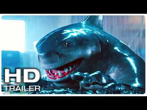 """THE SUICIDE SQUAD """"Ancient Shark God"""" Extended Trailer (NEW 2021) Superhero Movie HD"""