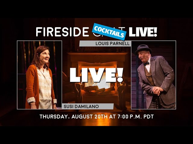 Fireside Cocktails with Louis Parnell and Susi Damilano