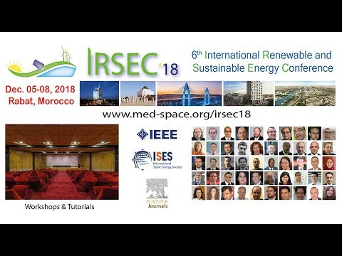 IRSEC18 - 2018 6th International Renewable and Sustainable Energy Conference