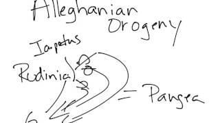 102 - LP Alleghanian Orogeny