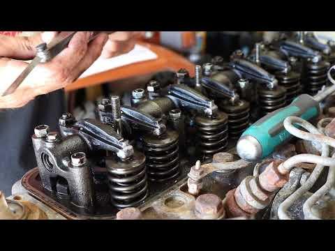 TIPS  - VALVE LASH ADJUSTMENT ON TOYOTA B AND 3B DIESEL ENGINE