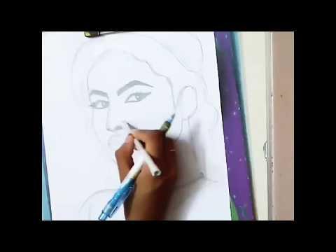 Drawing Naagin actress mouni roy ❤ thumbnail